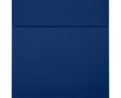 5 x 5 Square Envelopes Navy