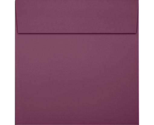 5 x 5 Square Envelopes Vintage Plum