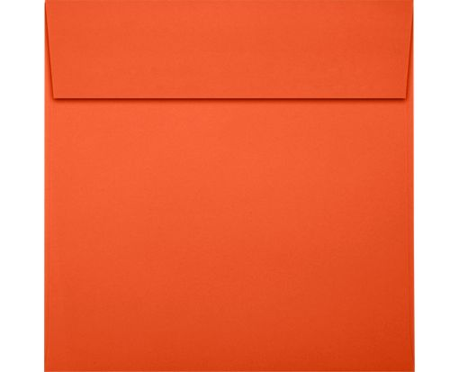 5 1/2 x 5 1/2 Square Envelopes Tangerine