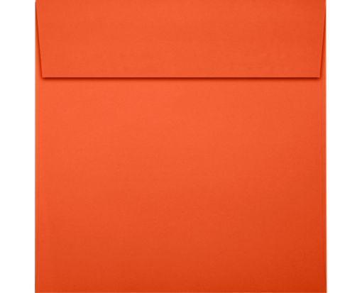 6 1/2 x 6 1/2 Square Envelopes Tangerine