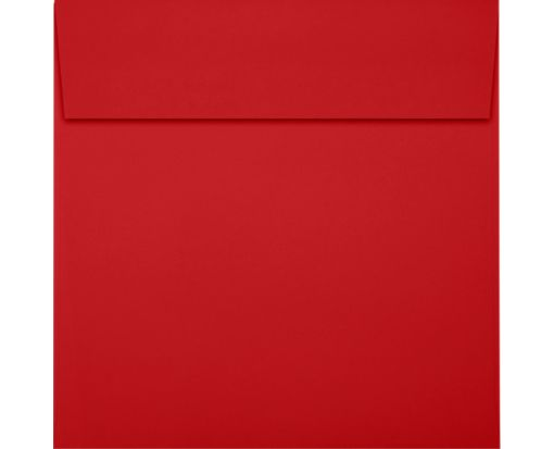 8 x 8 Square Envelopes Ruby Red