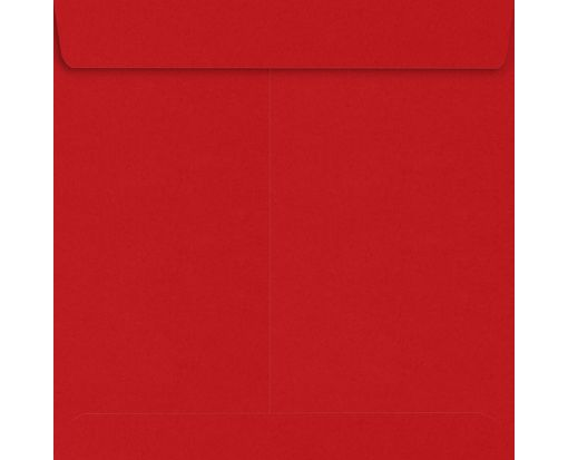 9 x 9 Square Envelopes Ruby Red