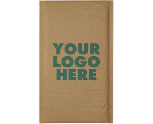 #0 (6 x 10) - LUX Kraft Bubble Mailer Grocery Bag