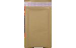 6 1/2 x 10 1/2 - LUX Matte Metallic Bubble Mailer Grocery Bag