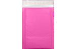 6 1/2 x 10 1/2 - LUX Matte Metallic Bubble Mailer Bright Fuchsia