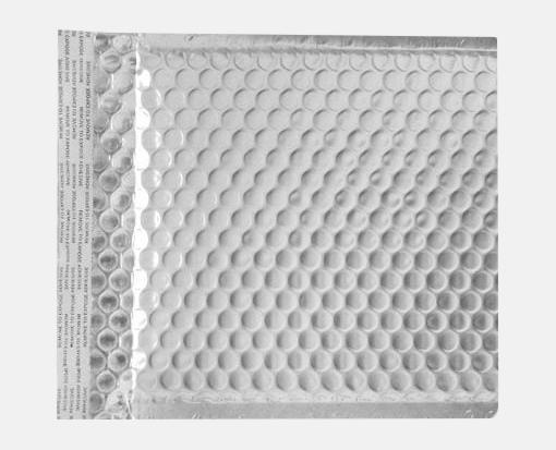 6 x 6 12 lux matte metallic bubble mailer