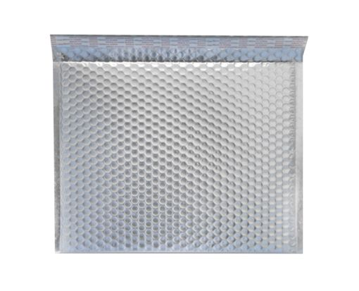 12 X 17 - LUX Matte Metallic Bubble Mailers Silver