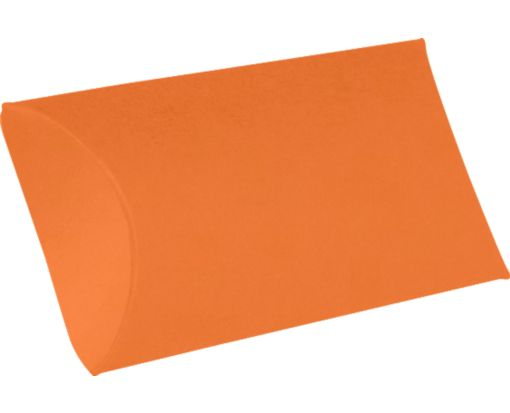 Medium Pillow Boxes (2 1/2 x 7/8 x 4) Mandarin