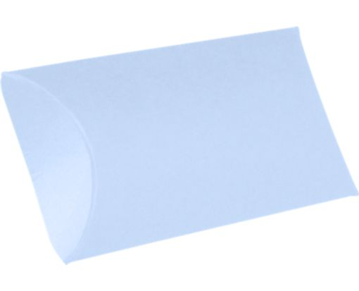 Medium Pillow Boxes (2 1/2 x 7/8 x 4) Baby Blue