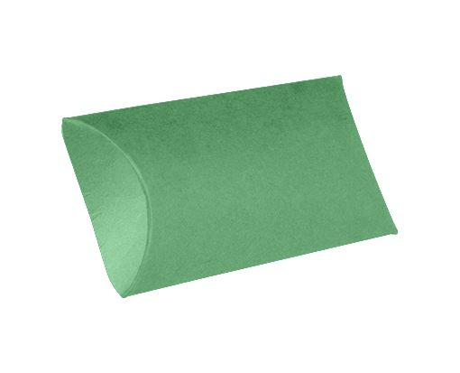Medium Pillow Boxes (2 1/2 x 7/8 x 4) Holiday Green