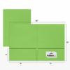 9 x 12 Presentation Folders Limelight