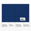 9 x 12 Presentation Folders Navy