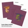 9 x 12 Presentation Folders Vintage Plum