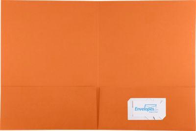 9 x 12 Presentation Folders Mandarin