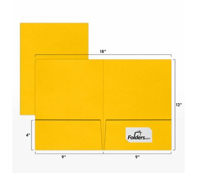 9 x 12 Presentation Folders Sunflower