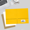 9 x 12 Presentation Folders Sunflower