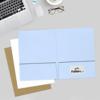 9 x 12 Presentation Folders Baby Blue