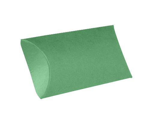 Small Pillow Boxes (2 x 3/4 x 3) Holiday Green