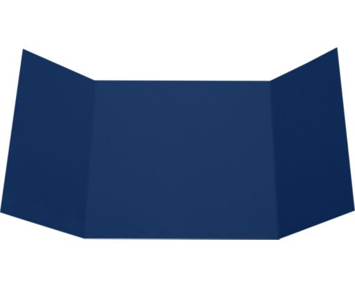 6 1/4 x 6 1/4 Gatefold Invitation Navy