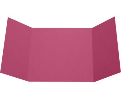6 1/4 x 6 1/4 Gatefold Invitation Magenta