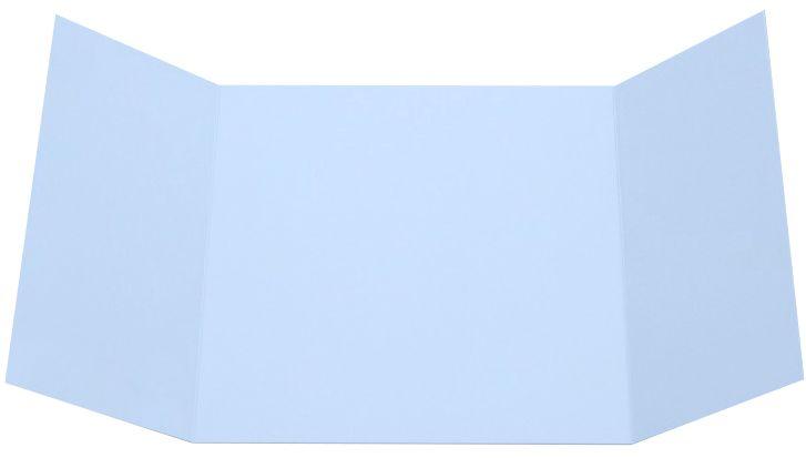 Baby Blue Gatefold Invitations 6 1 4 X 6 1 4 Envelopes Com