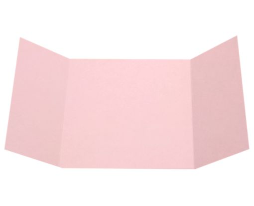 6 1/4 x 6 1/4 Gatefold Invitation Candy Pink