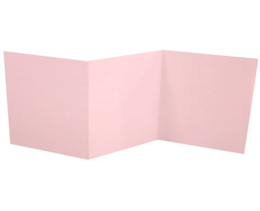 6 1/4 x 6 1/4 Z-Fold Invitation Candy Pink