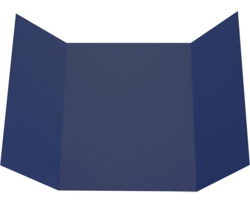 A7 Gatefold Invitation (5 x 7) Navy