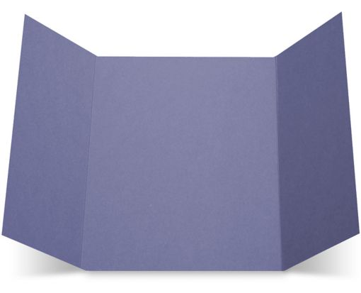 A7 Gatefold Invitation (5 x 7) Wisteria