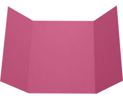 A7 Gatefold Invitation (5 x 7) Magenta