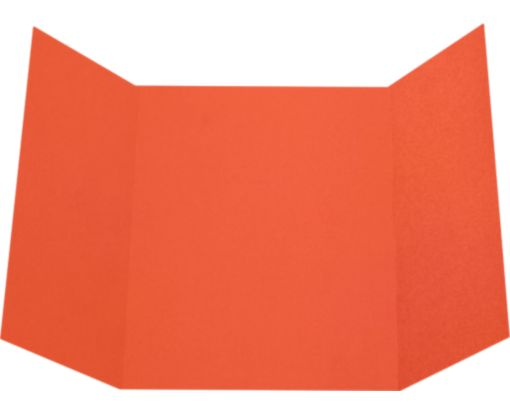 A7 Gatefold Invitation (5 x 7) Tangerine