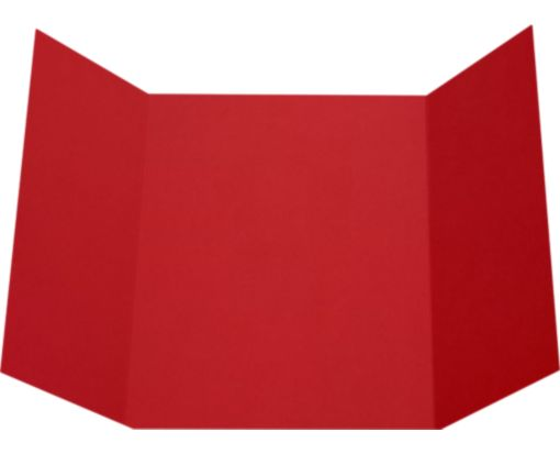 A7 Gatefold Invitation (5 x 7) Ruby Red