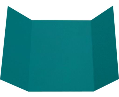 A7 Gatefold Invitation (5 x 7) Teal