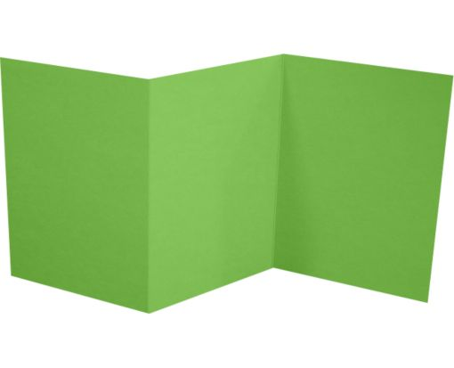 A7 Z-Fold Invitation (5 x 7) Limelight