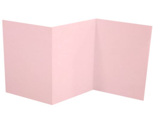 A7 Z-Fold Invitation (5 x 7) Candy Pink