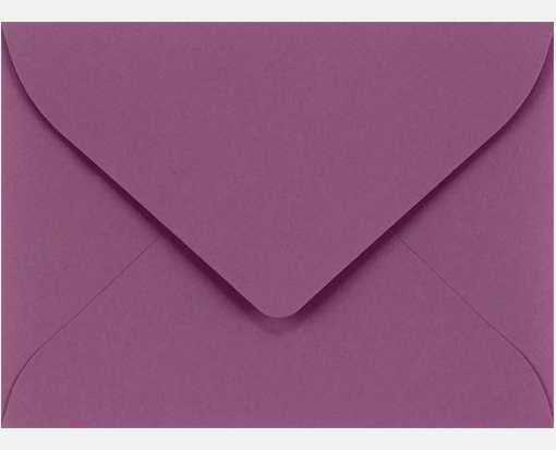#17 Mini Envelopes (2 11/16 x 3 11/16) Vintage Plum