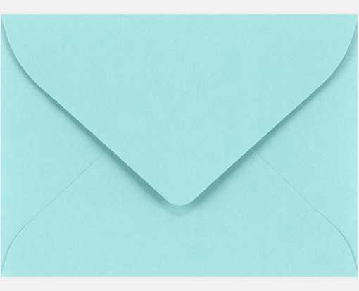 Green 50 Mini Envelopes