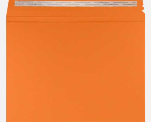 mandarin orange 9 1 2 x 12 1 2 envelopes lux mailers 9 1 2 x 12