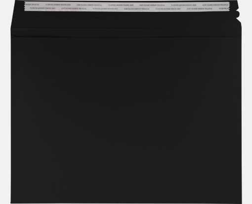 LUX Mailers (9 1/2 x 12 1/2) Black Linen
