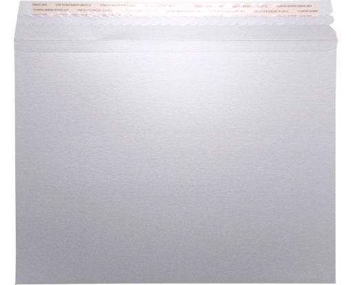 LUX Mailers (9 1/2 x 12 1/2) Silver Metallic