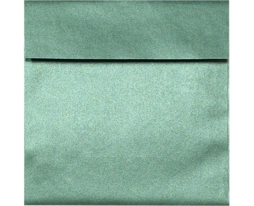 6 1/2 x 6 1/2 Square Envelopes Emerald Metallic