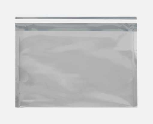 9 1/2 x 12 3/4 Metallic Glamour Mailers Silver