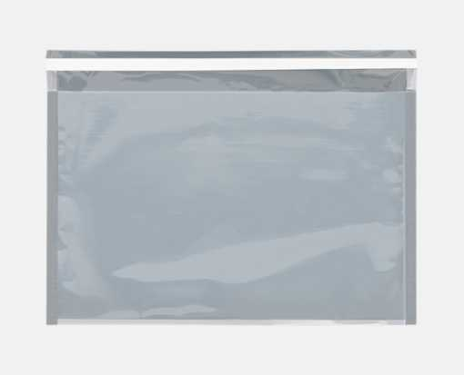 9 1/2 x 12 3/4 Glamour Mailers Translucent Silver