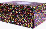 Mailing Box Medium - Emojis Party Popper