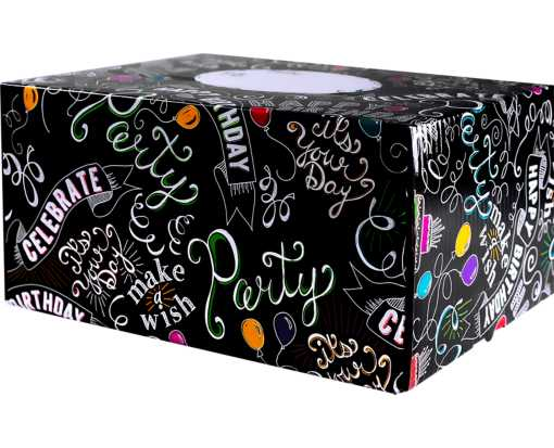 Medium Mailing Boxes Birthday Chalk