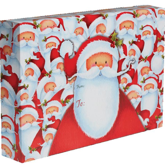 Mailing Box Large Santa