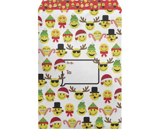 Mailing Envelope Small Emoji Christmas