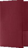 5 3/4 x 8 3/4 Small Presentation Folders - Two Pockets Burgundy Linen