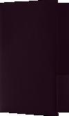 5 3/4 x 8 3/4 Small Presentation Folders - Two Pockets Dark Purple Linen