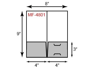 Mini Folders - Standard Two Pocket